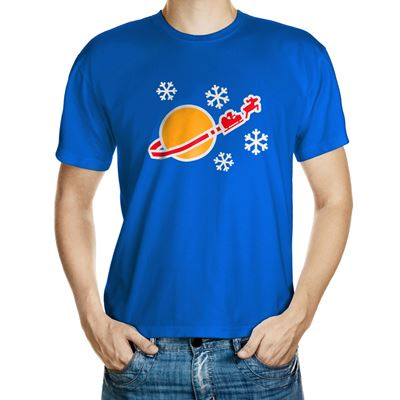 Classic Space Christmas T-Shirt