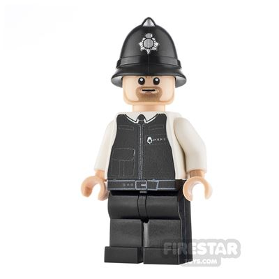 Custom Design Mini Figure - PC Brick - Policeman