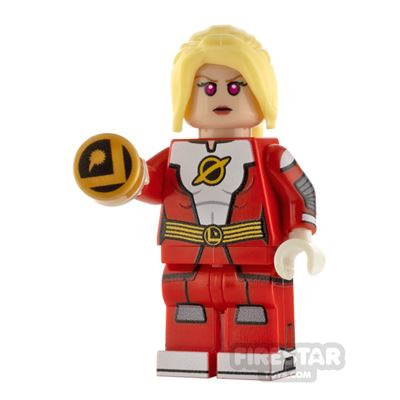 Custom Design Mini Figure - Saturn Girl