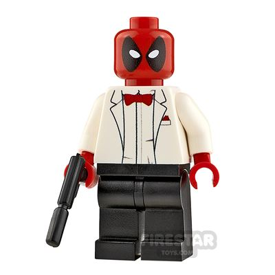 Custom Minifigure Spy Deadpool