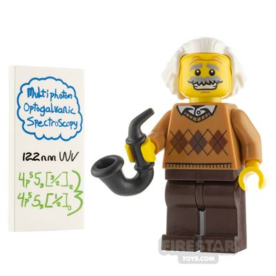 Custom Minifigure Albert Einstein