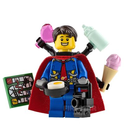 Custom Minifigure Superdad