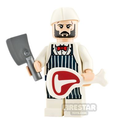 Custom Minifigure Butcher Wick