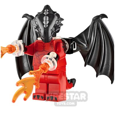 Custom Minifigure Dragon King
