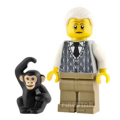 Custom Minifigure David Attenborough