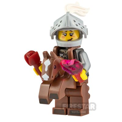 Custom Minifigure Knight in Shining Armour Female