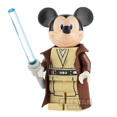 Custom Minifigure SW Space Wizard Mouse