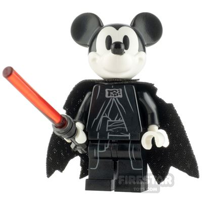 Custom Minifigure SW Sith Mouse