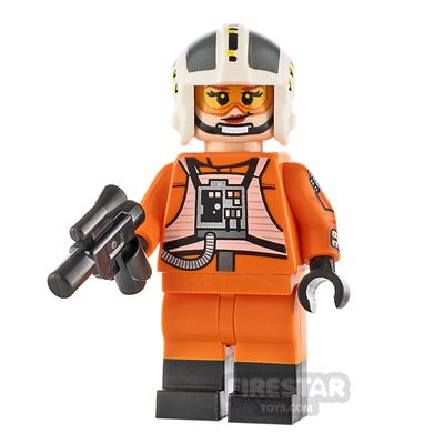 Custom Minifigure SW Female Rebel Pilot