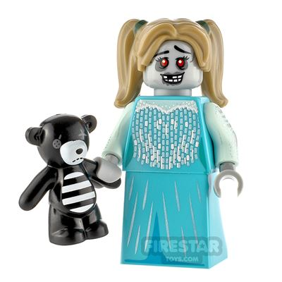 Custom Minifigure Haunted Girl