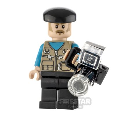 Custom Minifigure Photographer