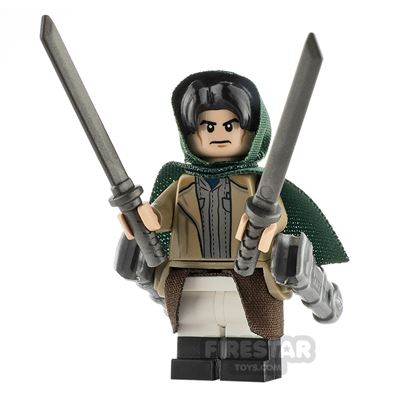 Custom Minifigure Attack on Titan Levi Ackerman