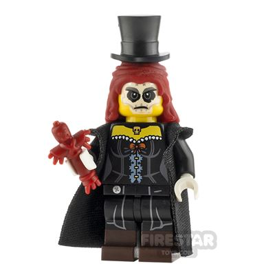 Custom Minifigure Voodoo Witch Doctor Female