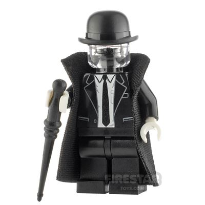 Custom Minifigure The Invisible Man