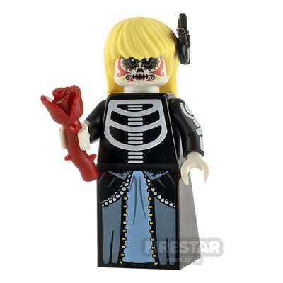 Custom Minifigure Day of the Dead Female