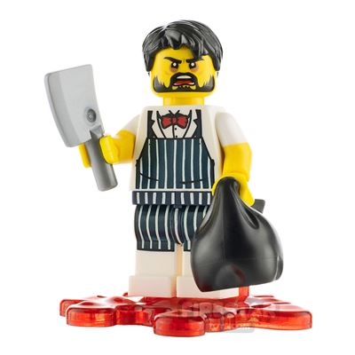Custom Minifigure Mad Butcher