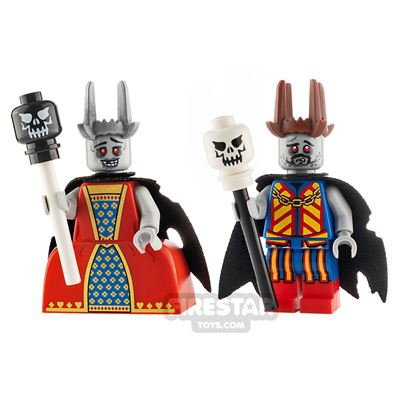 Custom Minifigure Pack Zombie Royalty