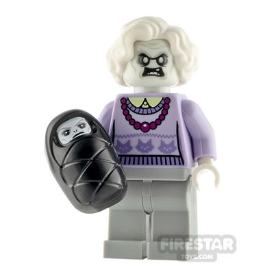 Custom Minifigure Haunted Granny