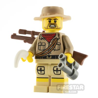 Custom Minifigure The Poacher