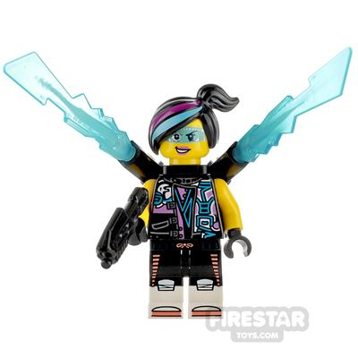 Custom Minifigure Cyberpunk Female