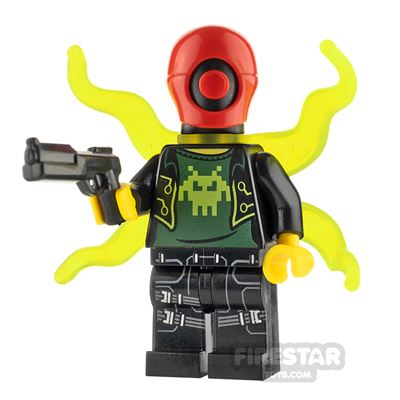 Custom Minifigure Cyberpunk Warrior