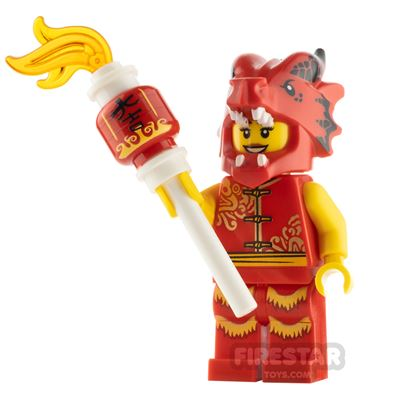 Custom Minifigure Dragon Dancer