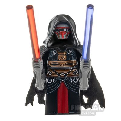 Custom Design Minifigure SW Ancient Dark Lord