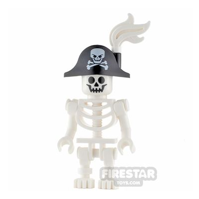 LEGO City Minifigure Skeleton with Pirate Hat