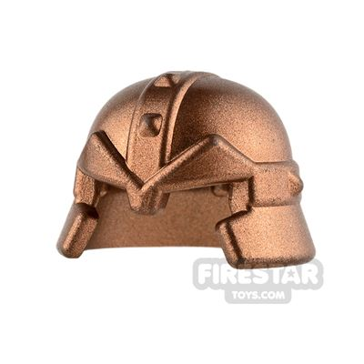 LEGO - Studded Castle Helmet - Copper