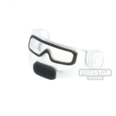 BrickForge - Tactical Goggles - Trans Clear and Black