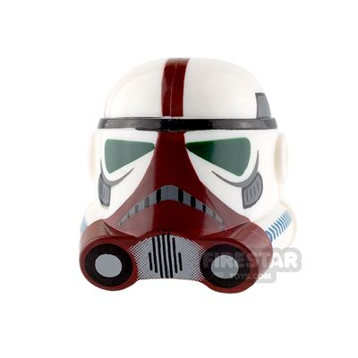 Clone Army Customs - P3 Helmet - Flame