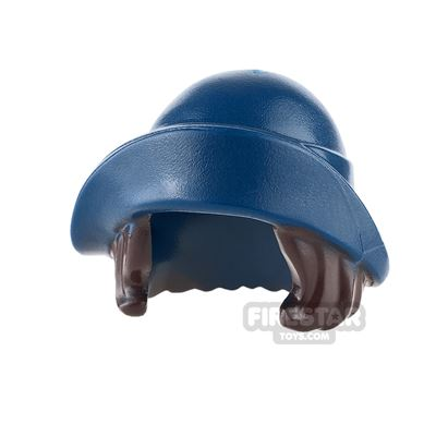 LEGO - Dark Blue Hat with Hair