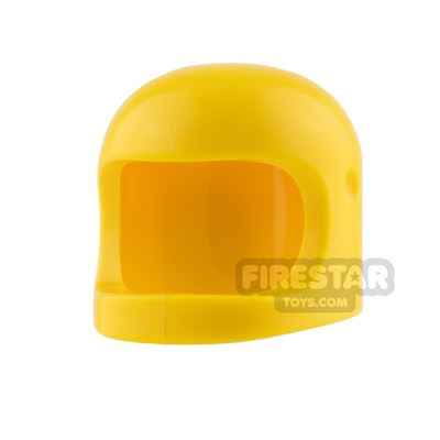 LEGO - Biker Helmet with Thick Chin Strap - Yellow
