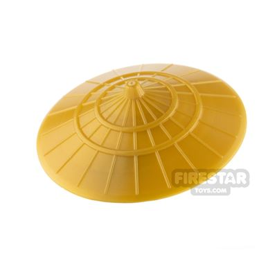 LEGO - Conical Hat - Pearl Gold