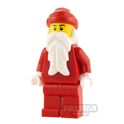 LEGO City Minifigure Santa White Hands