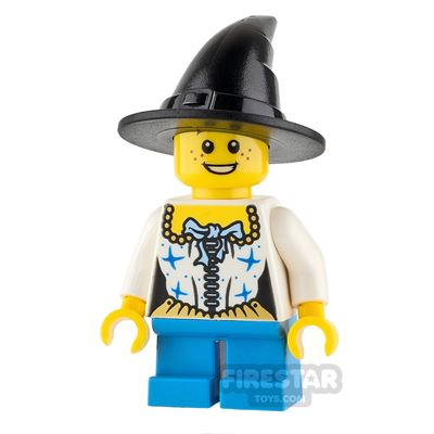 LEGO City Mini Figure - Girl with Witch Hat and Corset