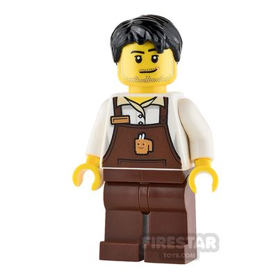 LEGO City Minifigure Male Barista