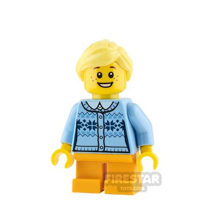 LEGO City Mini Figure - Girl - Fair Isle Sweater