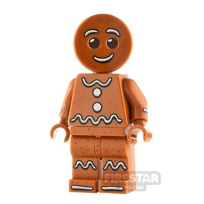 LEGO City Minifigure Gingerbread Man
