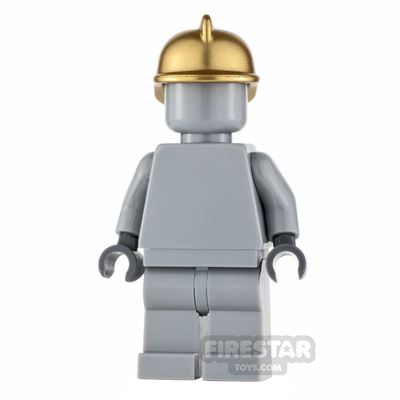 LEGO City Minifigure Firefighter Statue