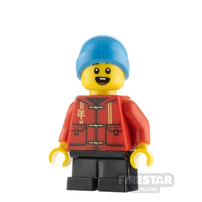 LEGO City Minifigure Boy with Tang Jacket
