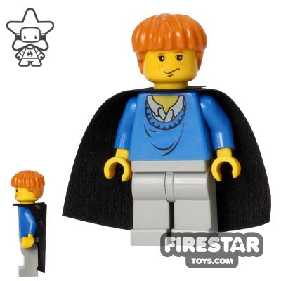 LEGO Harry Potter Mini Figure - Ron Weasley - Cape with Stars