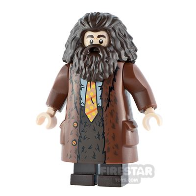 LEGO Harry Potter Minifigure Rubeus Hagrid Spotty Tie
