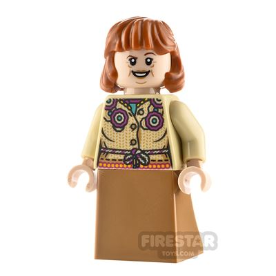 LEGO Harry Potter Minifigure Molly Weasley Curved Skirt
