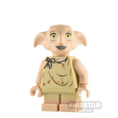 LEGO Harry Potter Minifigure Dobby Open Mouth Smile