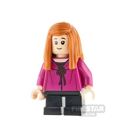 LEGO Harry Potter Minifigure Ginny Weasley Magenta Shirt