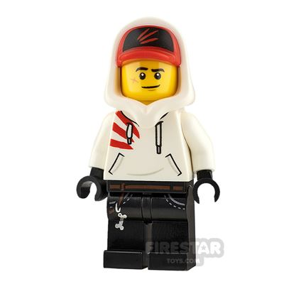 LEGO Hidden Side Minifigure Jack Davids Smile and Scared