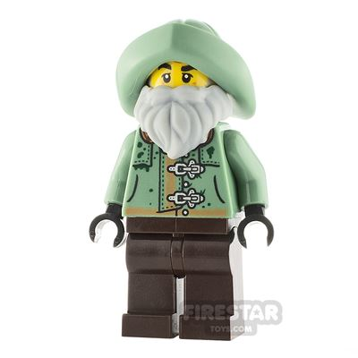 LEGO Hidden Side Minifigure Claus Stormward