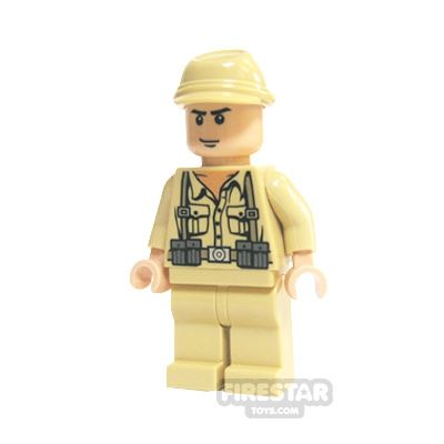 LEGO Indiana Jones Mini Figure - German Soldier 2