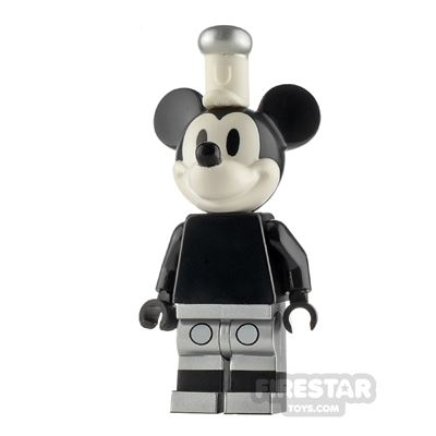 LEGO Ideas Mickey Mouse Grayscale